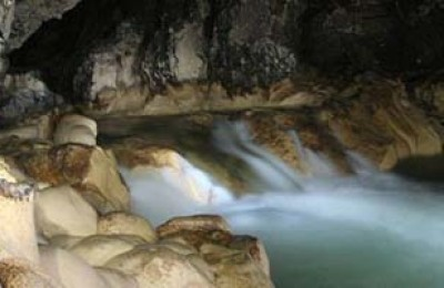 Blue Creek Cave in Placencia Belize