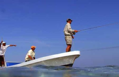 Fishing in Placencia Belize